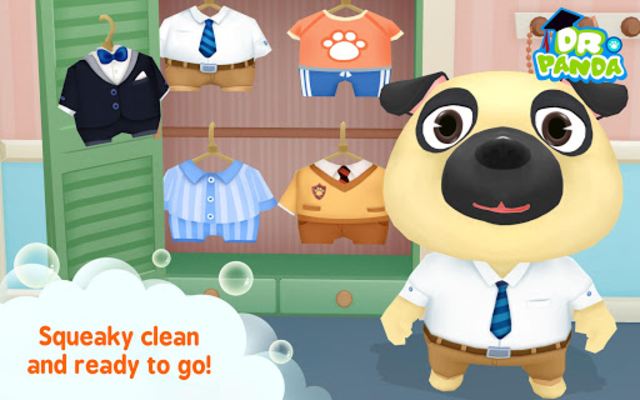 Dr. Panda Bath Time screenshot 15