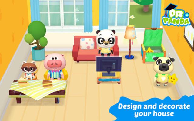 Dr. Panda Plus: Home Designer screenshot 1