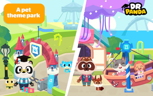 Dr. Panda Town: Pet World screenshot 1
