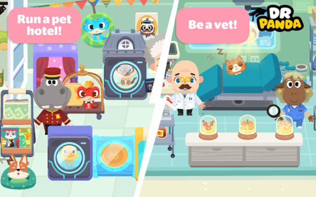 Dr. Panda Town: Pet World screenshot 4
