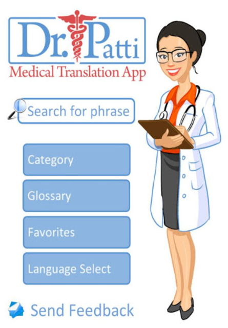 Dr. Patti Medical Translations screenshot 1