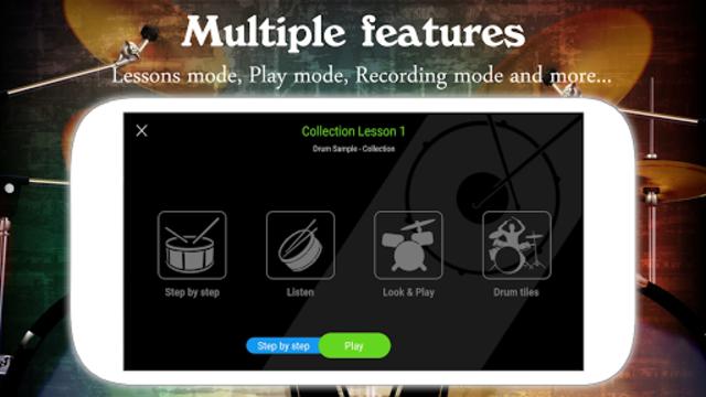 Drum Live: Real drum set drum kit music drum beat screenshot 4