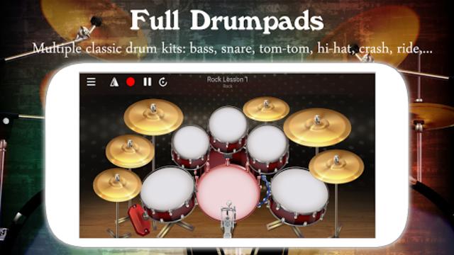 Drum Live: Real drum set drum kit music drum beat screenshot 1