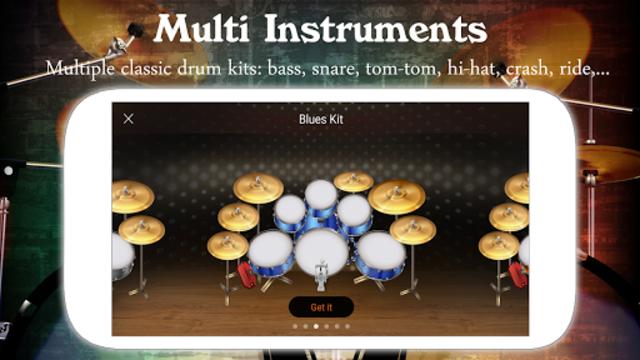 Drum Live: Real drum set drum kit music drum beat screenshot 5