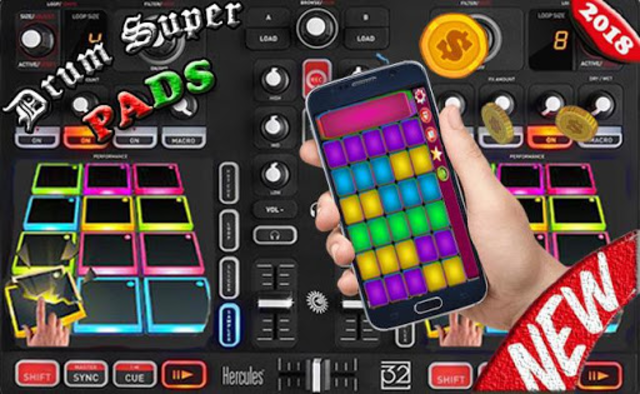 Drum Super Pads screenshot 4