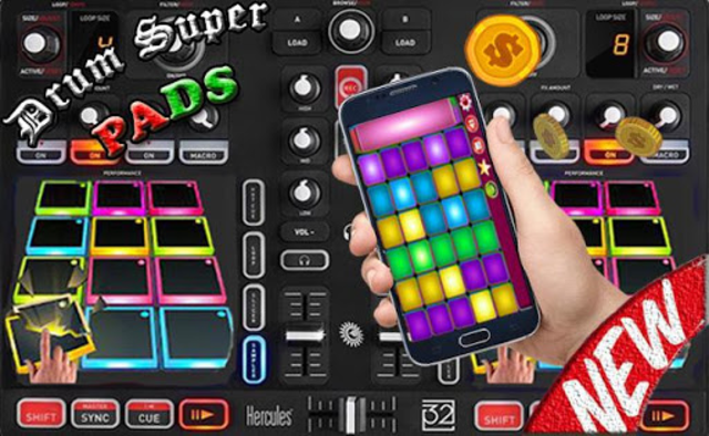Drum Super Pads screenshot 5