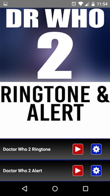 Doctor Who 2 Theme Ringtone screenshot 1