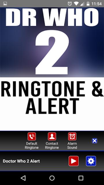 Doctor Who 2 Theme Ringtone screenshot 2