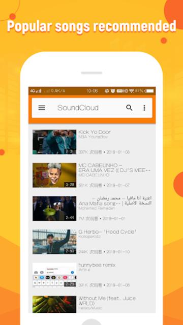 FreeMusic for SoundCloud screenshot 1