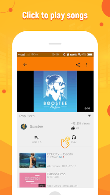 FreeMusic for SoundCloud screenshot 4