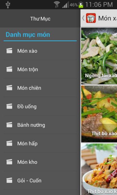 Món ăn ngon screenshot 1