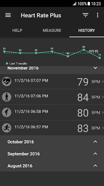 Heart Rate Plus - Pulse & Heart Rate Monitor screenshot 3
