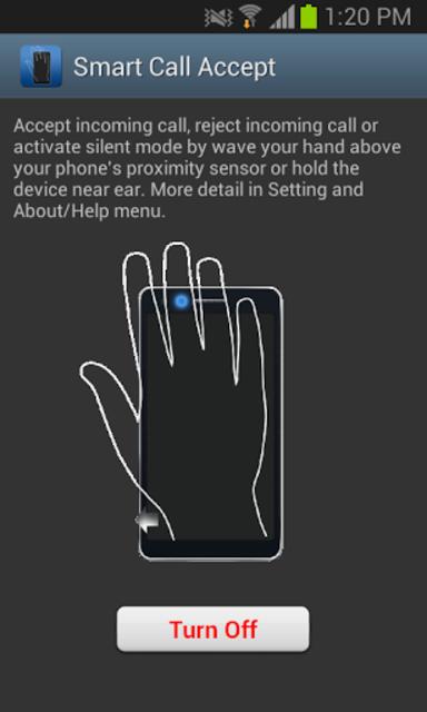 Smart Call Accept screenshot 1