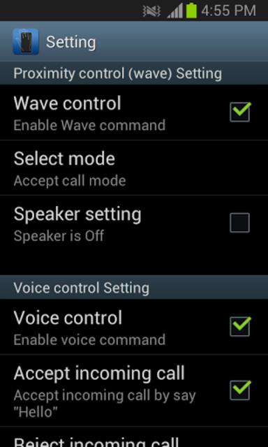 Smart Call Accept screenshot 3