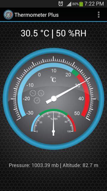 Thermometer Plus screenshot 1