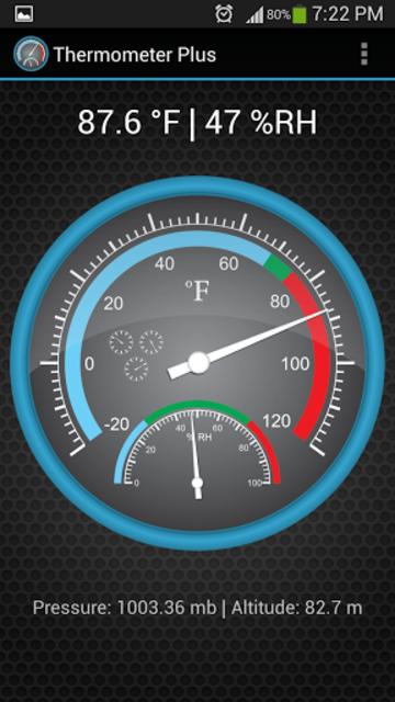 Thermometer Plus screenshot 2