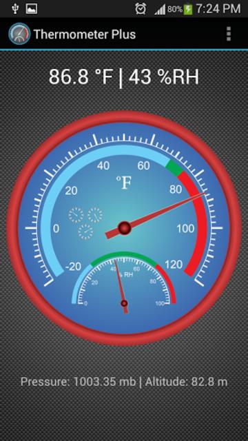 Thermometer Plus screenshot 3