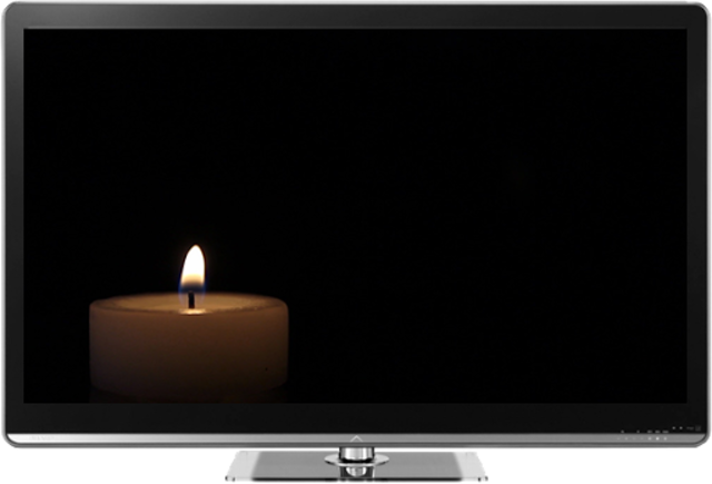 Romantic Candles Chromecast screenshot 2