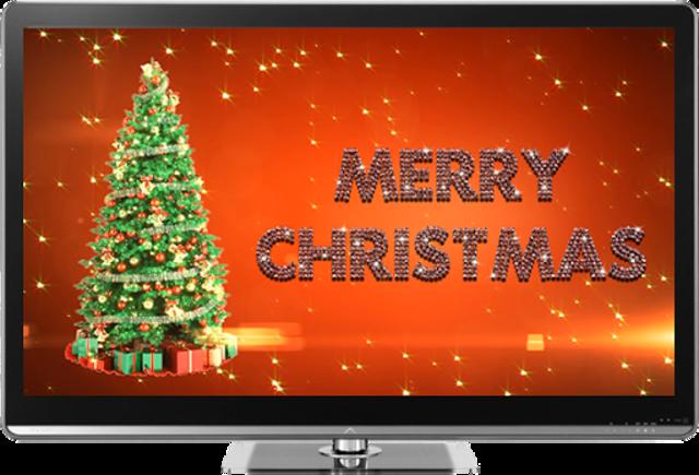 Christmas on TV via Chromecast screenshot 1