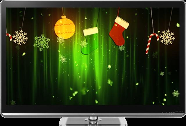 Christmas on TV via Chromecast screenshot 2