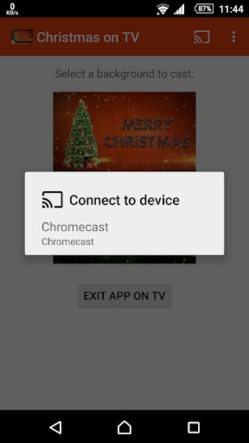 Christmas on TV via Chromecast screenshot 4