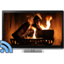 Icon for Fireplaces on TV - Chromecast