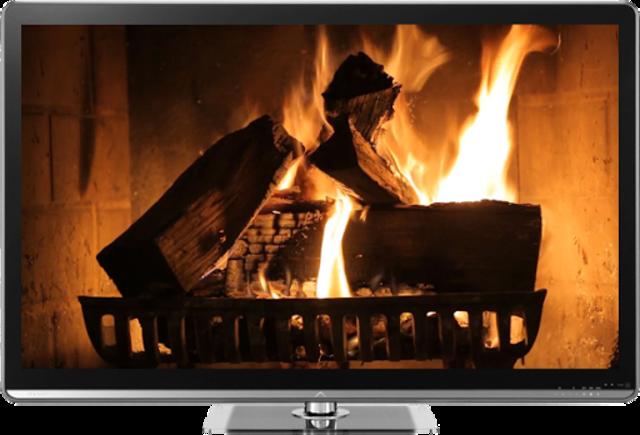 Fireplaces on TV - Chromecast screenshot 1