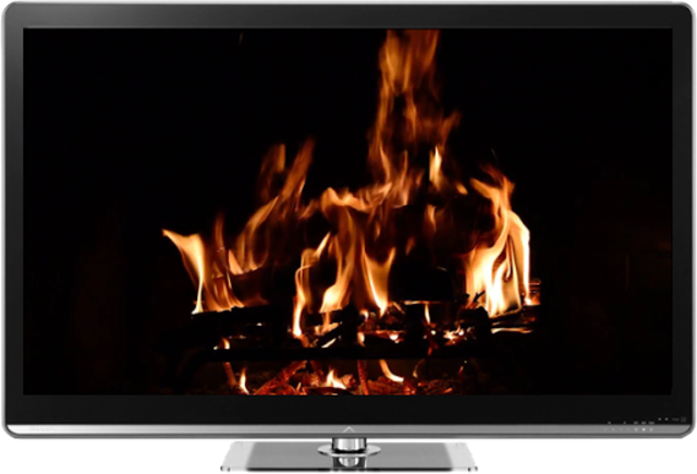 Fireplaces on TV - Chromecast screenshot 2