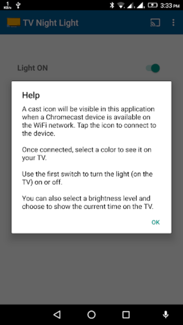 Cast Night Light and Clock on TV screenshot 8