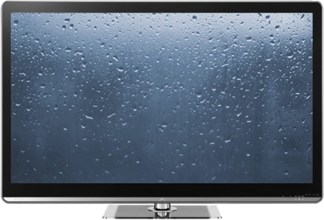 Rainy Window on TV/Chromecast screenshot 1
