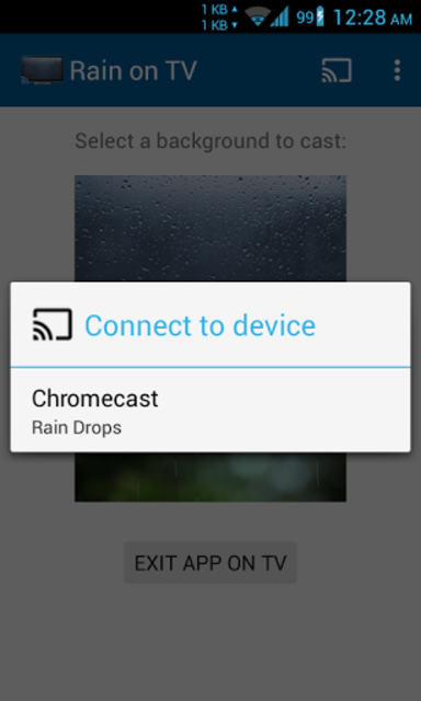 Rainy Window on TV/Chromecast screenshot 4