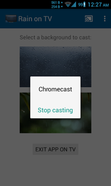 Rainy Window on TV/Chromecast screenshot 6