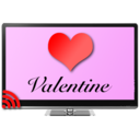 Icon for Valentine's Day for Chromecast
