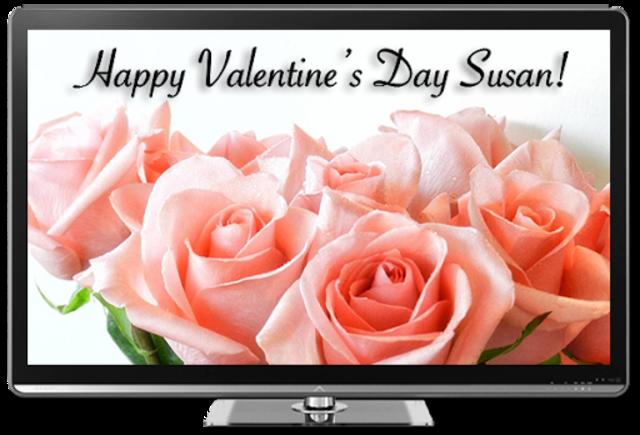 Valentine's Day for Chromecast screenshot 1