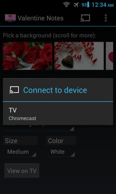 Valentine's Day for Chromecast screenshot 4