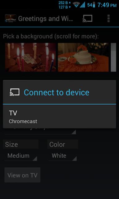 Greetings & Wishes Chromecast screenshot 8