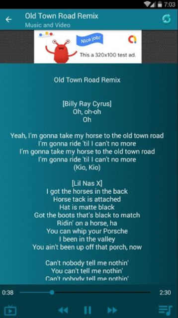Lil Nas X Old ft. Billy Ray Cyrus screenshot 5