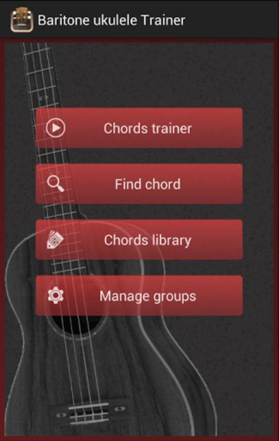 Baritone Ukulele Chords screenshot 1
