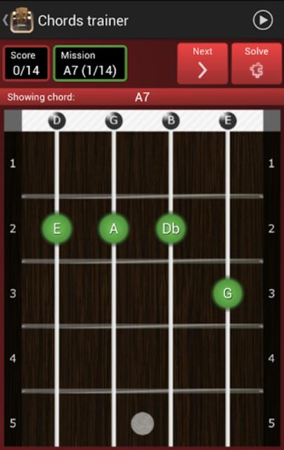 Baritone Ukulele Chords screenshot 2