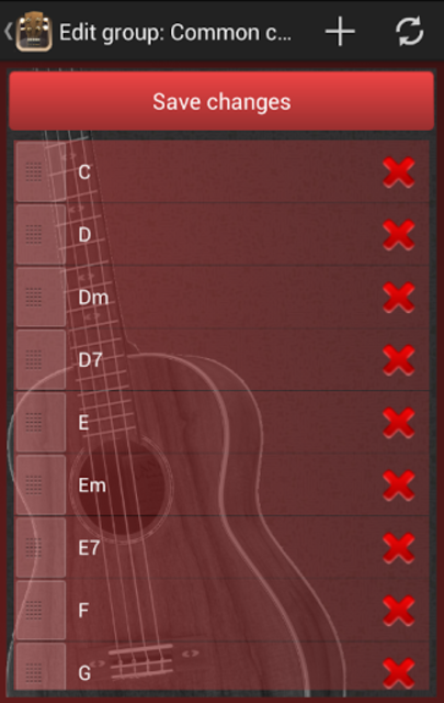 Baritone Ukulele Chords screenshot 4