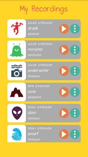 Voice Changer screenshot 8