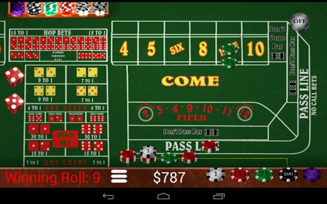 Craps Trainer Pro screenshot 10