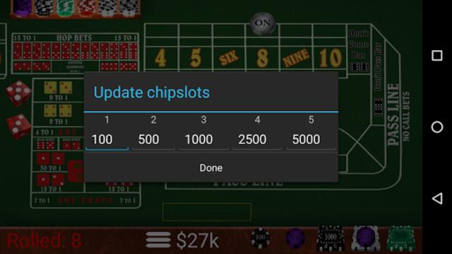 Craps Trainer Pro screenshot 5