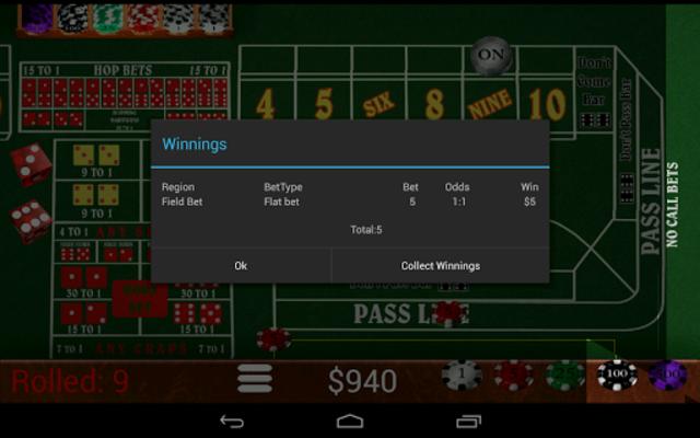 Craps Trainer Pro screenshot 11