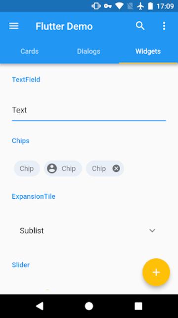 Flutter Demo screenshot 2