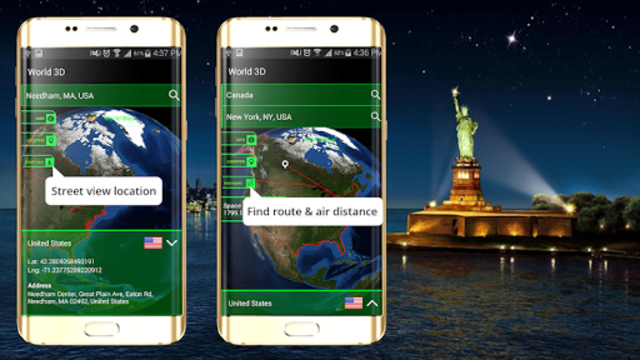 3D Earth Globe: World Map Panorama & 360 Satellite screenshot 10