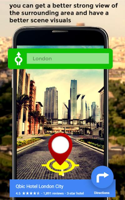 GPS HUD View Speedometer & Street Live Navigation screenshot 6