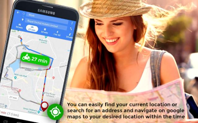 GPS HUD View Speedometer & Street Live Navigation screenshot 8