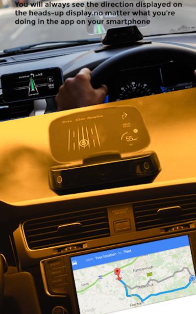 GPS HUD View Speedometer & Street Live Navigation screenshot 12