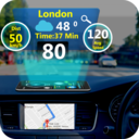 Icon for GPS HUD View Speedometer & Street Live Navigation